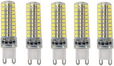 Led Bulbs, G9 LED Light Bulb 5W 80 X 2835 SMDs AC 220V Dimmable 400-450Lumen Equivalent 40W [Energy Class A+] 5Pcs led lig...