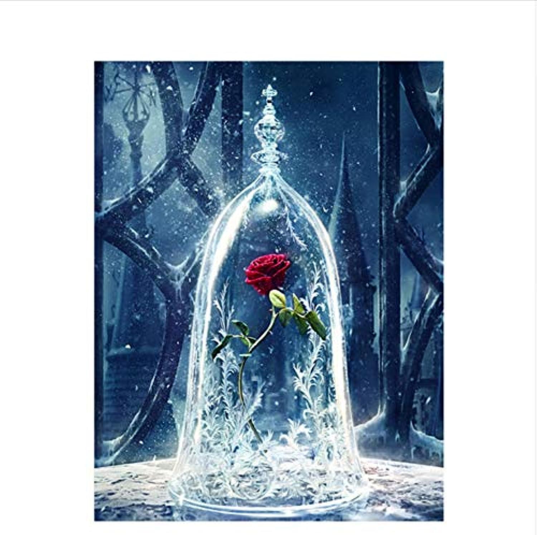 CZYYOU DIY Digitale Digitale Digitale Malerei by Zahlen Die Flasche Rosa Ölgemälde Wandbild Kits Färbung Wandkunst Bild Geschenk - Ohne Rahmen - 40x50cm B07PNMKTDK | Sonderaktionen zum Jahresende  18c5a0