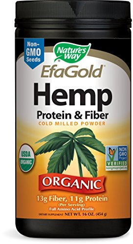 Nature's Way EfaGold Hemp Protein & Fiber
