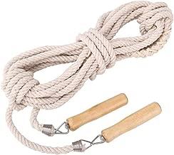 Uzinb Los ni/ños Saltar la Cuerda para Adultos Ejercicio aer/óbico Ajustable Cuerda de Saltar Boxeo rotaci/ón en Sentido opuesto Handle