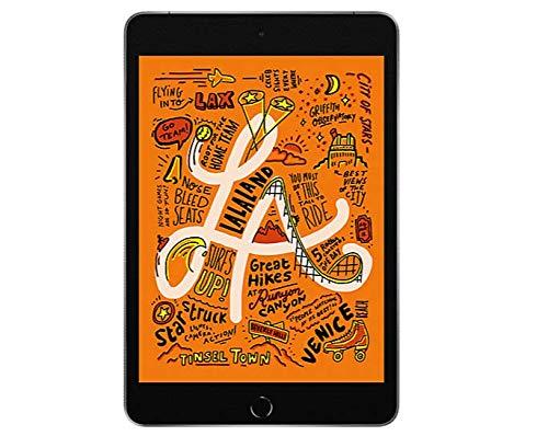 Apple iPad Mini 5 7.9 Gray 64 GB 2019 (Wi-Fi + Cellular) MUY12LL/A (Renewed)