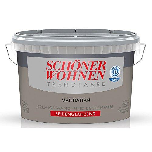 SCHNER WOHNEN KOLLEKTION,Trendfarbe »manhattan«,2.5 l