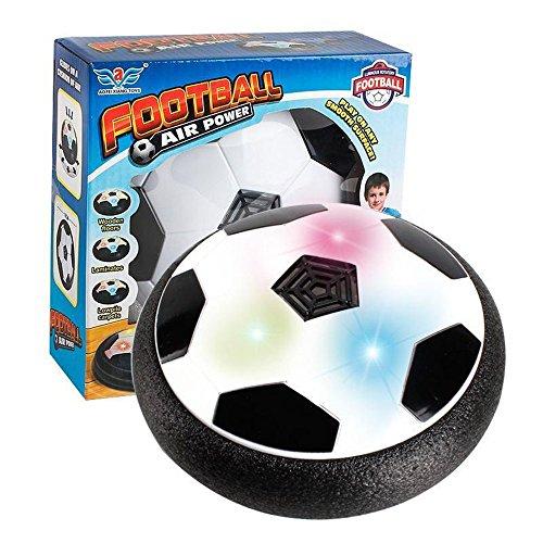 T.G.Y Air Power Fußball der super Hover Ball mit LED Beleuchtung Kinder Haustier Jungen und Mädchen Indoor Outdoor Hover Ballspiel Kinder (Football) (Football)