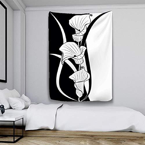 Tapiz de tela de fondo de moda simple moderno nórdico colgante de pared colchón turístico decoración de pared yoga mat-150x100cm