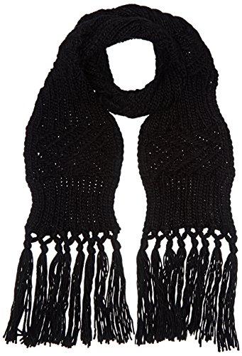 Pepaloves 1080 Bufanda, Negro (Black), Talla única para Mujer