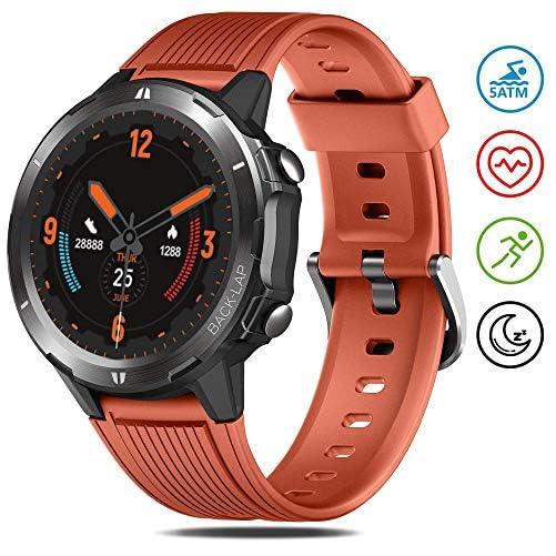GRDE Smartwatch 5ATM Wasserdicht