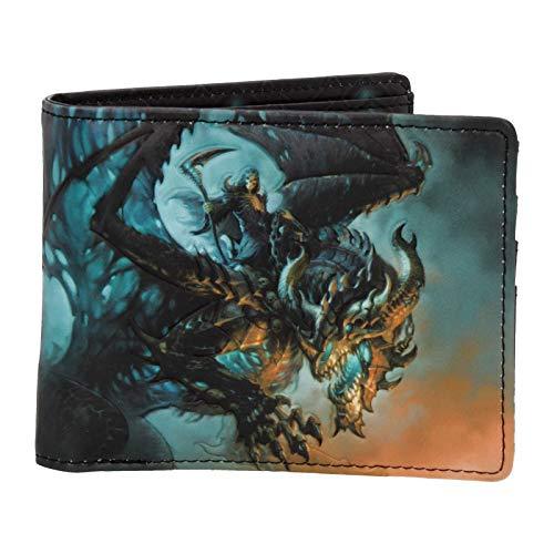 Nemesis Now Wings of Death James Ryman - Cartera (10 cm), Color Azul