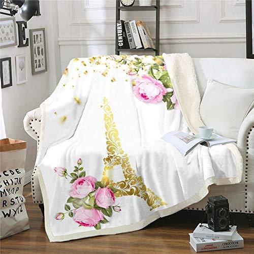 Manta de forro polar de franela para sofá, colorido pez tropical, suave, ligera, para dormitorio, sala de estar, bebé (30 x 40 pulgadas)