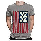 XUEBing Camisas patrióticas 4 de julio Día de la Independencia de EE.UU. Camisetas para hombres Verano 3D Impresión Digital Blusa de manga corta