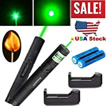 LOT 2 Pc Green Pointer best burning Pointer Military Beam Pen long range pointer Astronomy US