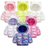 Baby Girls Boys Winter Jacket Snowsuit Kids Windproof Hooded Trench Coats Windbreaker Outwear