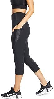 Rockwear Activewear Women's 7/8 Rib Pocket Tight Black 6 from Size 4-18 for Bottoms Leggings + Yoga Pants+ Yoga Tights