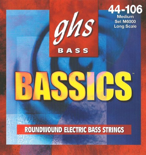 GHS Strings M6000 4-String Bassics