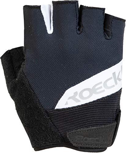 Roeckl Bozen Fahrrad Handschuhe kurz schwarz/weiß 2020: Größe: 8.5