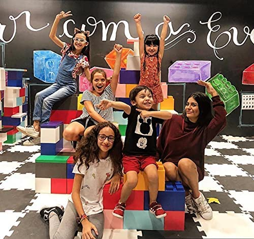 EverBlock Classroom Play Mixed Block Set 352 store - Colored Building New Orleans Mall