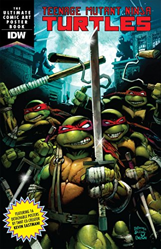 Teenage Mutant Ninja Turtles Comic Art Poster Book