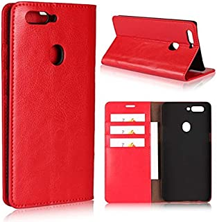 SIZOO - Wallet Cases - For OPPO R11S Case Cover Genuine Leather Funda For OPPO R11 Plus R11S Plus Phone Silicone Frame Car...