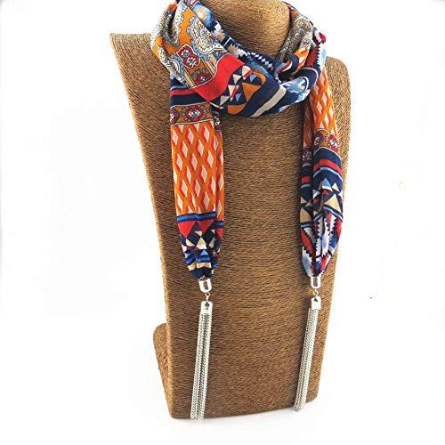 NA sjaal winter buiten warme sjaal, kwasthanger sjaals wraps halsketting sieraden stolen lente herfst dames meisje halsdoek cold ski riding windproof cape 170 * 20cm blauw
