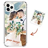Custom Phone Case Compatible with Samsung Galaxy A21 Cover Personalized Your Own Image Photo Text Shockproof Silicone TPU Bumper Protection Shell for Valentines/Xmas/Birthday,Upgrade TPU