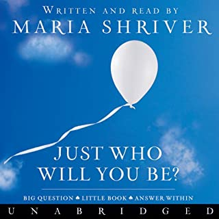 Just Who Will You Be? audiobook cover art