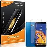 SWIDO Bildschirmschutzfolie für Samsung Galaxy J4 Core [3 Stück] Anti-Reflex MATT Entspiegelnd, Extrem Kratzfest, Schutz vor Kratzer/Folie, Bildschirmschutz, Schutzfolie, Panzerfolie