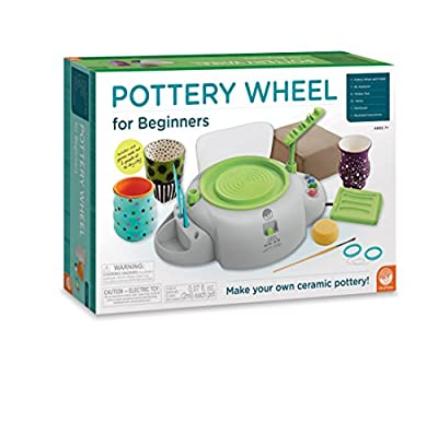 Best Rated MindWare Pottery Wheel for Kids (Children's Set) detail review