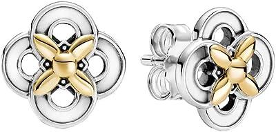 Pandora Orecchini a perno Le signore argento sterling Non è un gioiello Irregolare - 299349C00
