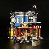 iCUANUTY Set di Luci per Lego Creator La Drogheria, Kit Luce LED Compatibile con Lego 31050 (Non Include Il Modello Lego)
