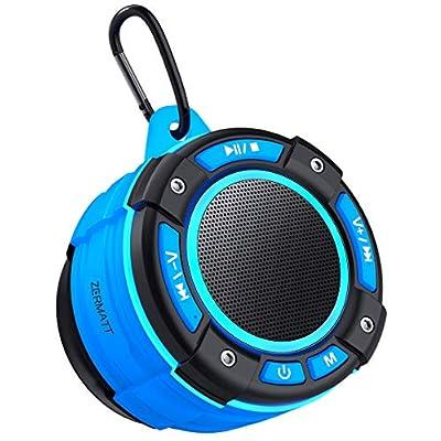 Zermatt IPX7 Waterproof Portable Wireless Bluetooth Speaker