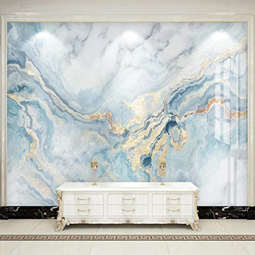 3D Blue Marble Luxus Wohnkultur Wandgemälde Wohnzimmer Benutzerdefinierte Foto Tapete TV Sofa Schlafzimmer Hintergrund Wandmalerei 3D Wallpaper-350Cmx245Cm