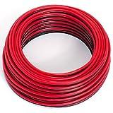 Cable para altavoz, 2x 0,5mm², colorrojo y negro,10M,CCA