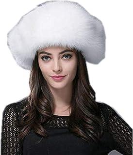 Futrzane Mongols Mujeres Moda Estilo Gorra Piel Sint/ética Sombrero
