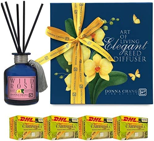 Donna Chang by DHL Same day shipping Organic Spa Diffuser Rose 2021 spring and summer new Wild Reed Per 200Ml