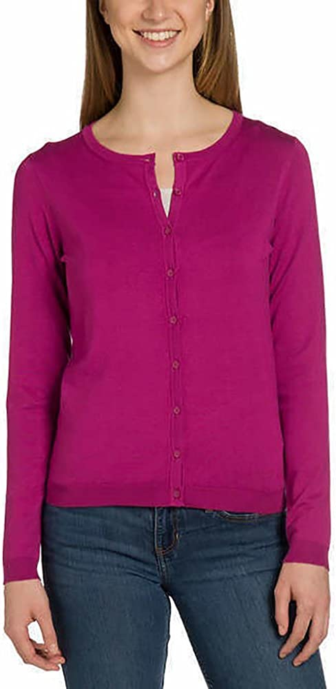 Joan Vass New York Ladies' Cardigan Sweater