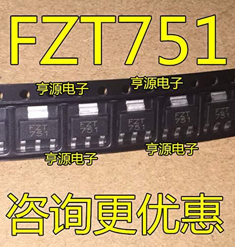 10pcs/lot FZT751TA FZT751 SOT-223 in Stock