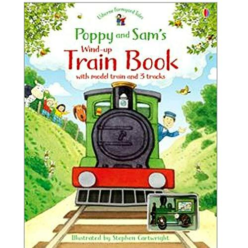 Usborne Farmyard Tales Poppy and Sam's Wind-up Train Book