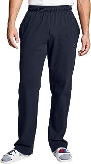 بنطال رياضي للرجال من شامبيون بتصميم واسع من الاسفل مصنوع من قماش جورسيه خفيف الوزن