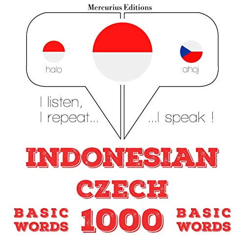 Indonesian – Czech. 1000 basic words cover art