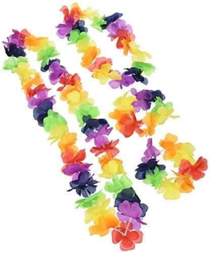 Hawaii-Girlanden-Set aus Stoff - 4er-Pack