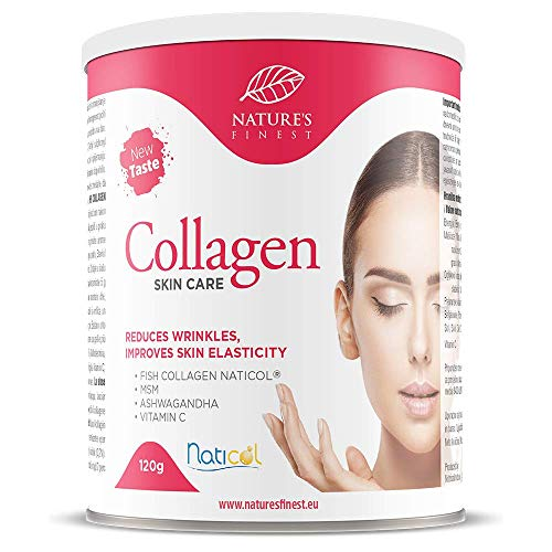 Nature's Finest Collagen SkinCare con Naticol® | Preparato per Bevanda al Collagene ad Alta Biodisponibilità, 100% Naturale | Elasticità della Pelle | Profonda Azione Antirughe