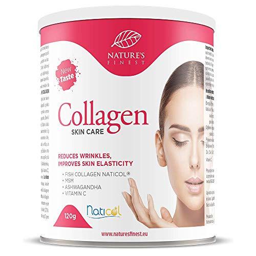 Collagen SkinCare con Naticol® | Preparato per Bevanda al Collagene ad Alta Biodisponibilità, 100{2c4d86ec98f4296565eeca452174ddf061c6186cea56c8af9488d172e3738c76} Naturale | Elasticità della Pelle | Profonda Azione Antirughe