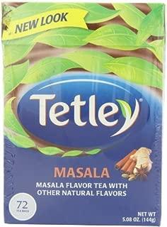 Tetley Tea, Masala, 72-Count Tea Bags (Pack of 3) by Tetley
