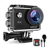 <span class='highlight'><span class='highlight'>Campark</span></span> X5 4K 20MP Action Camera Webcam WiFi EIS Waterproof 40M with External Microphoneand Remote Control, 2 Batteries and Mounting Accessories Kit compatible with gopro