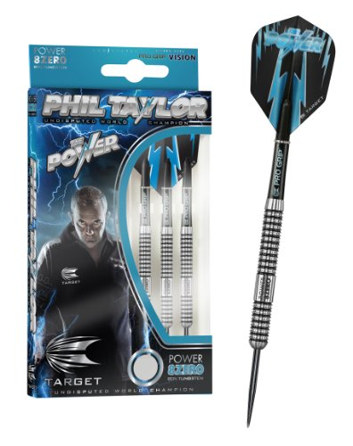 PHIL TAYLOR POWER-8ZERO, Steeldart 23g, inkl. 1 Satz EMPIRE®™ Flights