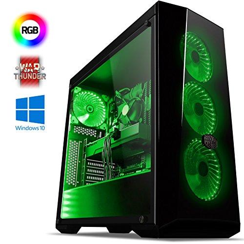 VIBOX Submission 29 Gaming PC Computer (4,2GHz AMD FX 8-Core Prozessor, Nvidia GeForce GTX 1060 Grafikkarte, 16Go DDR3 1600MHz RAM, 2TB HDD, Ohne Betriebssystem)