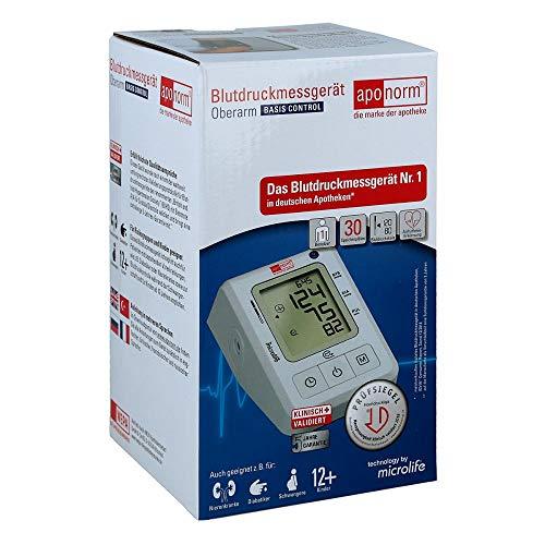 Aponorm Blutdruck Messgerät Basis Control Oberarm