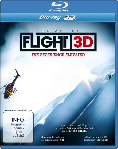 The Art of Flight 3D (Special Edition mit Lenticular Card) [3D Blu-ray]