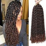 6Pcs Passion Twist Hair 18 Inch Braiding Water Wave...