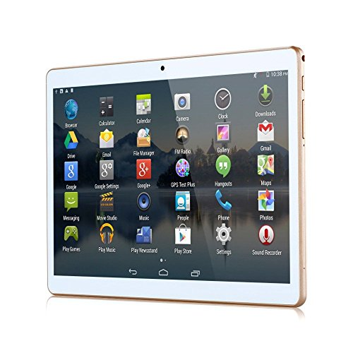 4G LTE 10(9.7) inch 8Core Glod Tablet PC Octa Cores 2560x 1600IPS RAM 4GB ROM 64GB 8.0MP WIFI 4G Dual SIM Card WCDMA + GSM Tablets PCS Android5.1