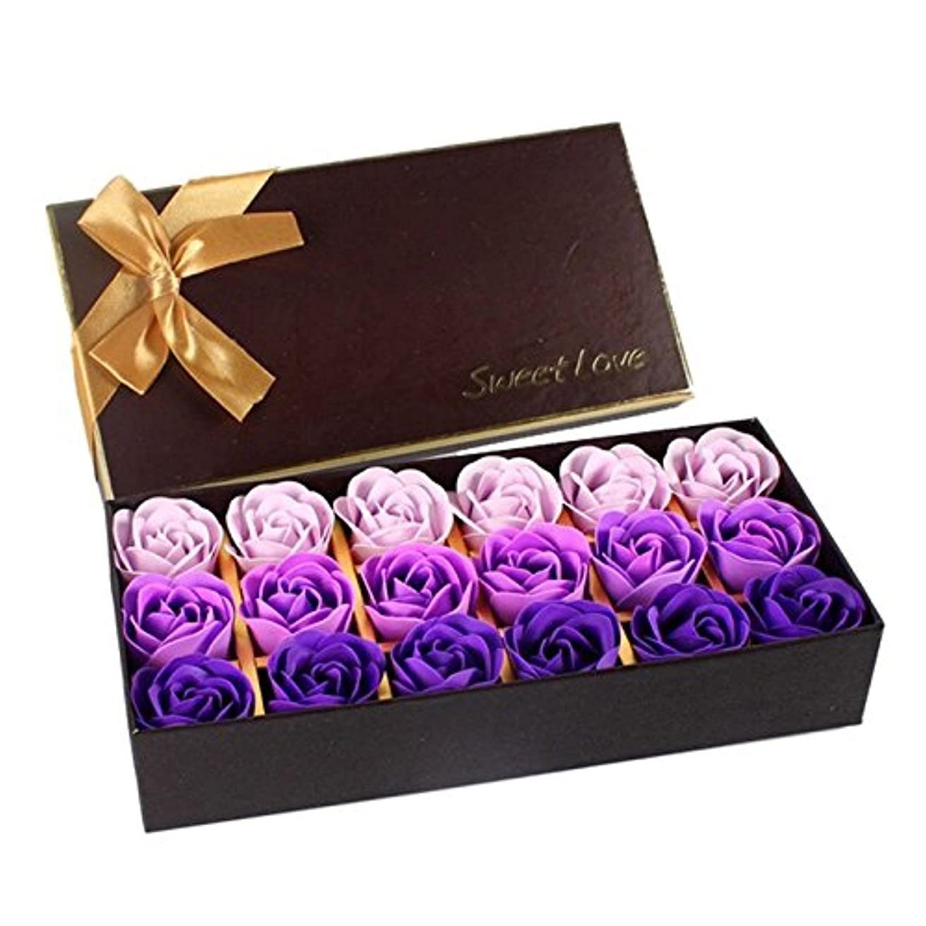 鳩ルーフマーティンルーサーキングジュニアローズ フラワーソープ 石鹸 薔薇 プレゼント お祝い ② #334